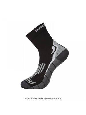 6b5fbf13cee14 ponožky Progress RUNNING HIGH SOX černé