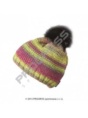 čepice dámská Progress SURI pletená barevná 7f389bf0ba