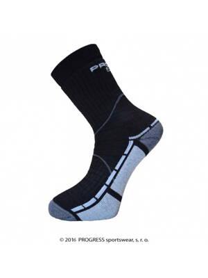8b1c7777eef ponožky Progress TRAIL bamboo černo šedé