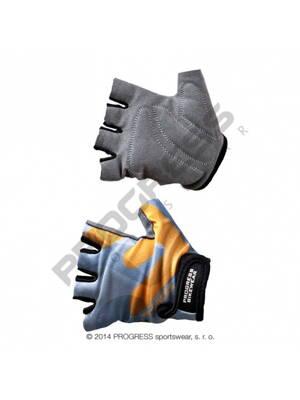 rukavice dětské Progress KIDS šedo oranžové 46c4de851c